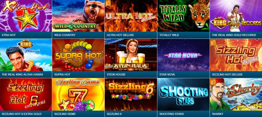 Популярные игры от компании Novomatic ждут вас на сайте!